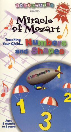 Babyscapes: Miracle of Mozart - Numbers and Shapes