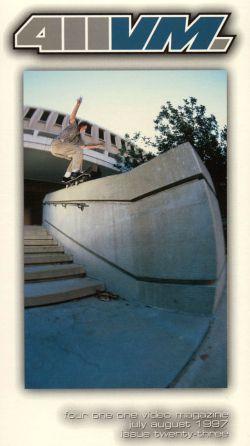 411 Video Magazine: Skateboarding, Vol. 23 (2001)