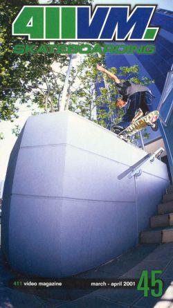 411 Video Magazine: Skateboarding, Vol. 45 (2001)