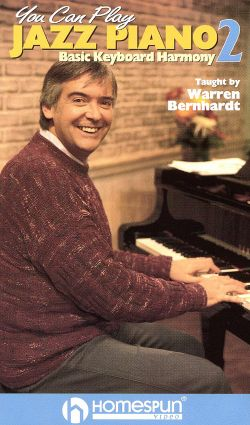 You Can Play Jazz Piano, Vol. 2: Basic Keyboard Harmony