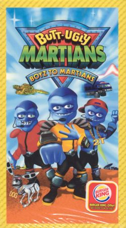 Butt-Ugly Martians: Boyz to Martians