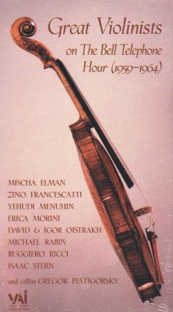 Great Violinists of the Bell Telephone Hour (1959-1964)