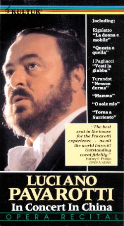 Luciano Pavarotti: In Concert in China