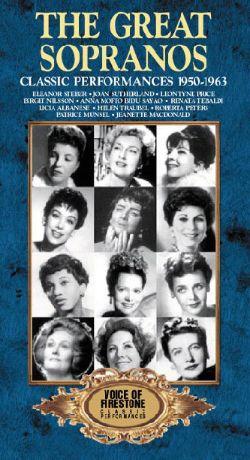 Voice of Firestone: The Great Sopranos - Classic Performances, 1950-1963