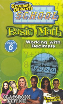 Standard Deviants School: Basic Math, Program 6