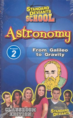 Standard Deviants School: Astronomy, Program 2 - From Galileo to Gravity