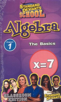 Standard Deviants School: Algebra, Program 1 - The Basics