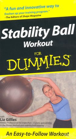 Stability Ball Workout For Dummies