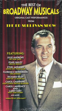 The Ed Sullivan Show: The Best of Broadway Musicals - Original Cast Performances