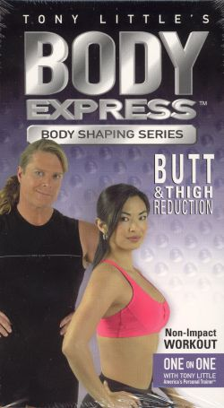Tony Little: Body Express - Butt & Thigh Reduction