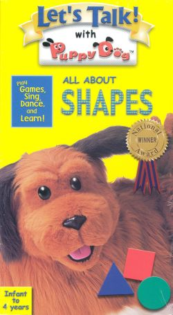 Let's Talk! With Puppy Dog: All About Shapes