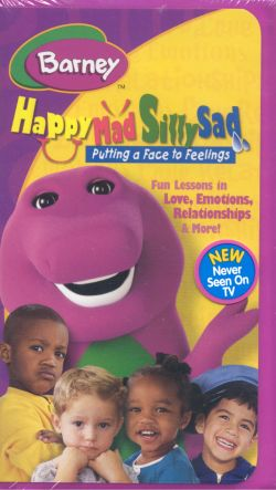 Barney: Happy, Mad, Silly, Sad