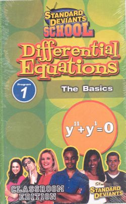 Standard Deviants School: Differential Equations, Program 6 - More Equation Types