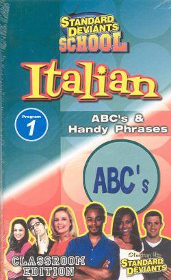 Standard Deviants School: Italian, Program 1
