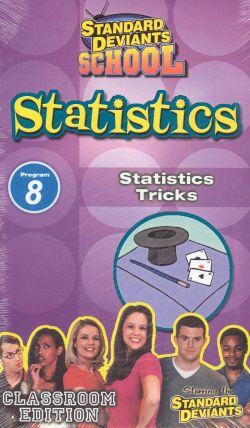 Standard Deviants School: Statistics, Program 8 - Statistics Tricks