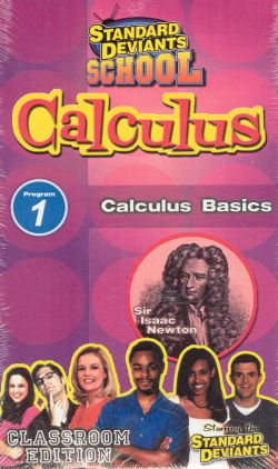 Standard Deviants School: Calculus, Program 1 - Calculus Basics