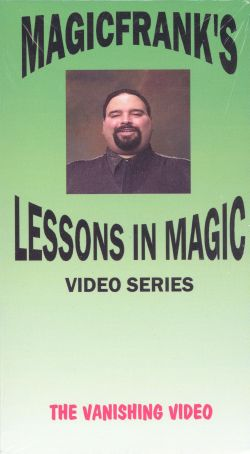MAGICFRANK's Lessons in Magic: The Vanishing Video