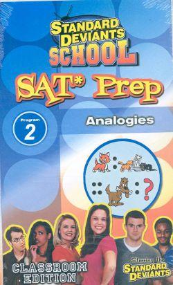 Standard Deviants School: SAT Prep, Program 2 - Analogies