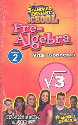 Standard Deviants School: Pre-Algebra, Program 2