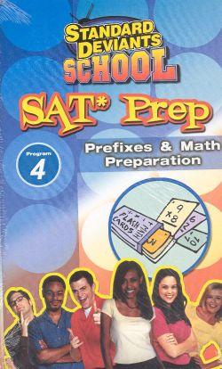 Standard Deviants School: SAT Prep, Program 4 - Prefixes & Math Preparation