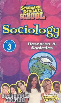 Standard Deviants School: Sociology, Program 3 - Research and Societies