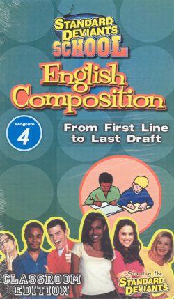 Standard Deviants School: English Composition, Program 4