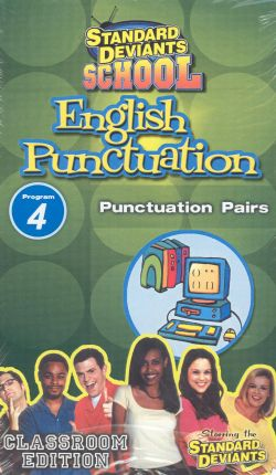 Standard Deviants School: English Puncuation, Program 4