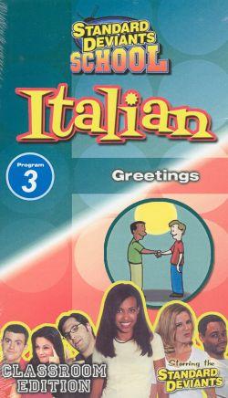 Standard Deviants School: Italian, Program 3