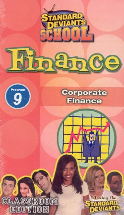 Standard Deviants School: Finance, Program 9 - Corporate Finance