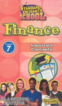 Standard Deviants School: Finance, Program 7 - Important Concepts