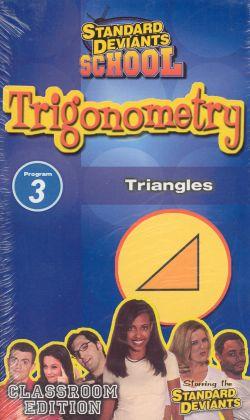 Standard Deviants School: Trigonometry, Program 3 - Triangles