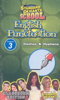 Standard Deviants School: English Puncuation, Program 3