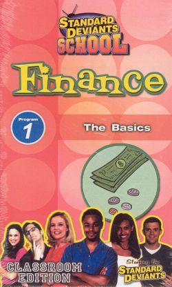 Standard Deviants School: Finance, Program 1 - The Basics