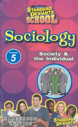 Standard Deviants School: Sociology, Program 5 - Society and the Individual