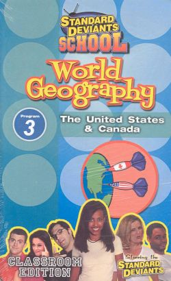 Standard Deviants School: World Geography, Program 3 - The United States & Canada