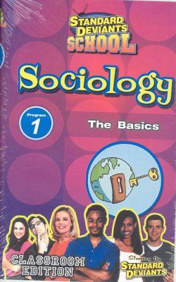 Standard Deviants School: Sociology, Program 1 - The Basics