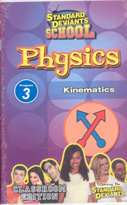 Standard Deviants School: Physics, Program 3 - Kinematics