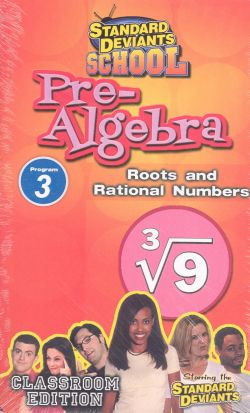 Standard Deviants School: Pre-Algebra, Program 3
