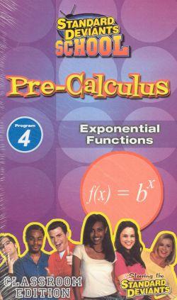 Standard Deviants School: Pre-Calculus, Program 4 - Exponential Functions