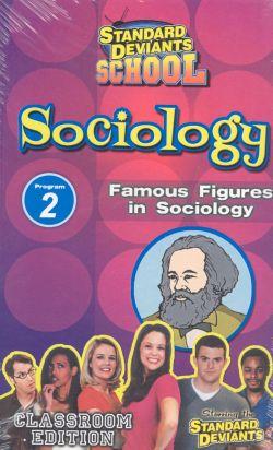 Standard Deviants School: Sociology, Program 2 - Famous Figures in Sociology