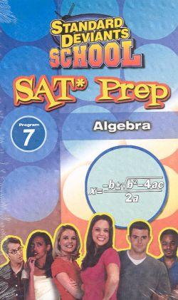 Standard Deviants School: SAT Prep, Program 7 - Algebra