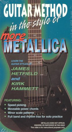 Guitar Method: In the Style of More Metallica