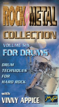 Rock/Metal Collection, Vol. 6: For Drums - Vinnie Appice