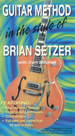 Guitar Method: In the Style of Brian Setzer