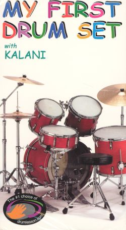My First Drum Set with Kalani