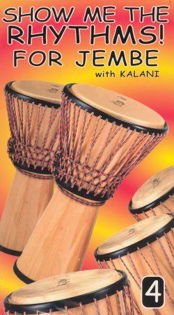 Show Me the Rhythms! For Jembe, Vol. 4