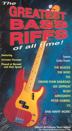 Guitar Method: The Greatest Bass Riffs of All Time!