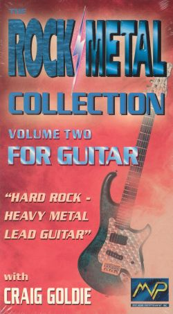 Rock/Metal Collection, Vol. 2: For Guitar - Craig Goldie