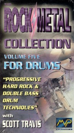 Rock/Metal Collection, Vol. 5: For Drums - Scott Travis