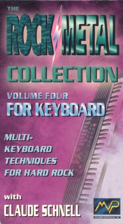 Rock/Metal Collection, Vol. 4: For Keyboard - Claude Schnell